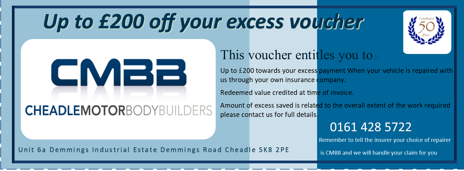 Save Up To £200 On Your Excess